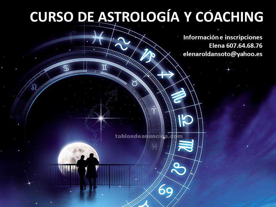 Curso de astrología y coaching