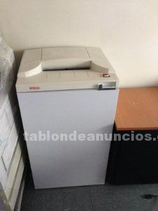 Se venden 2 destructoras de papel