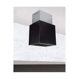 Vendo campana nodor isla cube glass black