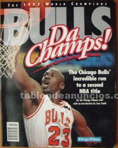 Michael jordan - libro ''the bulls. Da champs'' (1992) - segundo anillo - nba