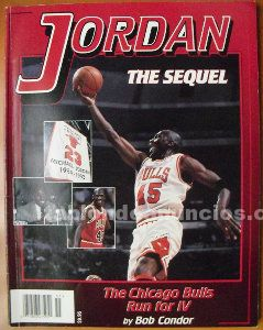Michael jordan - libro ''the sequel'' - retorno de 1995 - nba