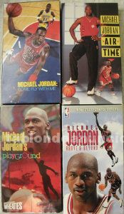 Cuatro documentales de michael jordan (vhs) - nba