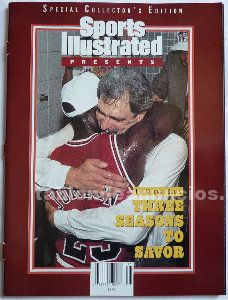 Michael Jordan - Revista especial de ''Sports illustrated'' (1993) - 3º anillo
