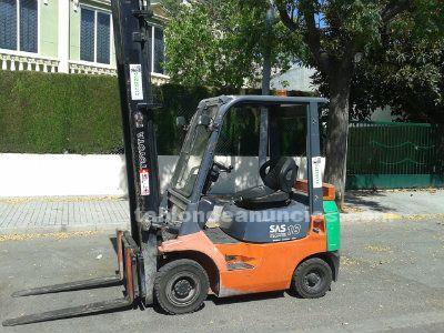 Carretilla toyota diesel
