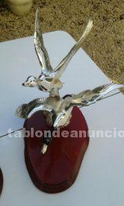 Vendo figuras de plata para decoraci�n