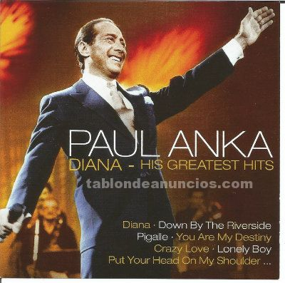 Cd doble de paul anka