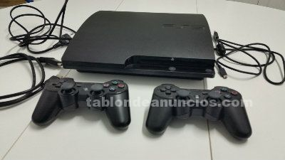 Vendo ps3 slim 320 gb en perfecto estado completa