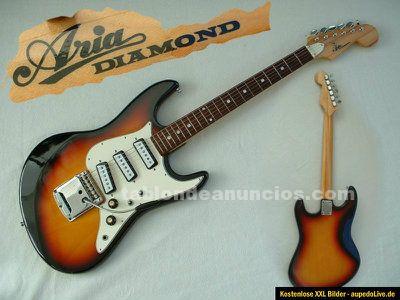 Vendo guitarra electrica clasica del año 1965 marca aria