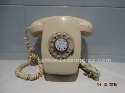 Teléfono Heraldo de pared color vainilla