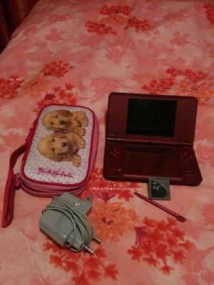 Pack nintendo ds xl color cereza.