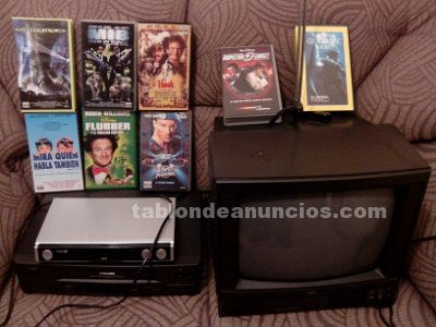 Tv + video + tdt + colecci�n de pel�culas