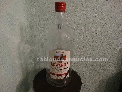 Botellón whisky sir edward´s