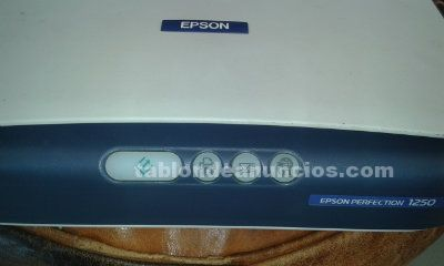 Vendo escaner epson perfection 1250