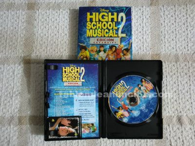 Dvd: high school musical 2