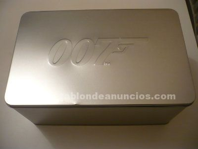 James bond pack metálico