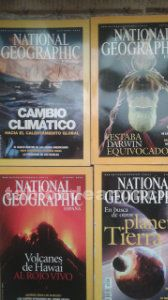 Lote de 35 revistas national geographic