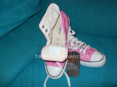BAMBAS CONVERSE ALL STAR ROSA