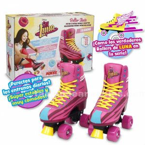 SOY LUNA. PATINES ROLLER TRAINING