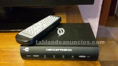 Disco duro multimedia conceptronic media player 250gb