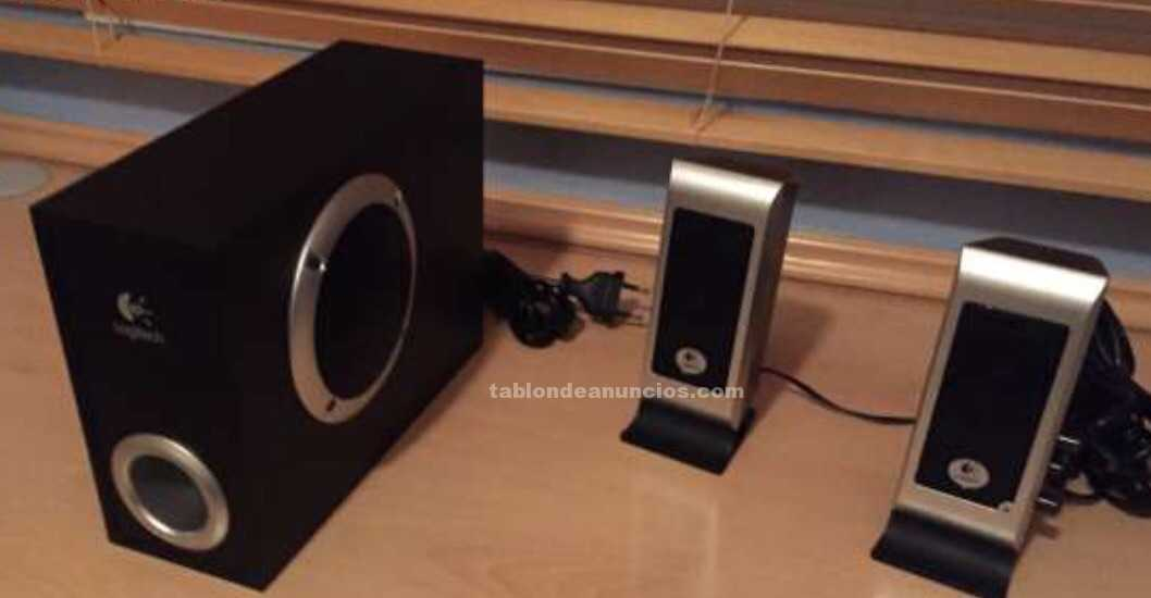 Altavoces logitech para pc con subwofer