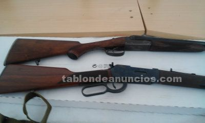 Venta rifle 30 30 winchester y escopea 14 mm
