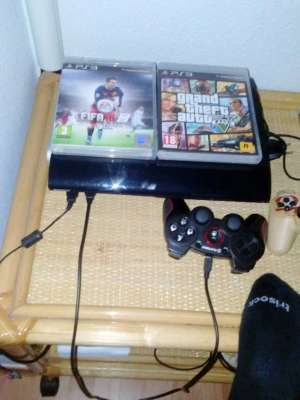 Ps3 slim 500 gb + mando
