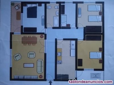 Vendo piso 4 dormitorios