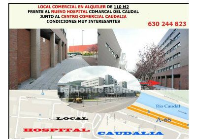 Local comercial satullano mieres frente hospital junto a caudalia