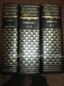 Diccionario espasa a�o 1977