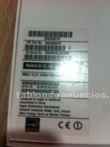 Macbook air chollo1.4 ghz intel core i5