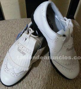 Zapatos golf footjoy sra spikeless blanco talla 35