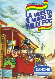 álbum  la vuelta al mundo de willy fog (danone)