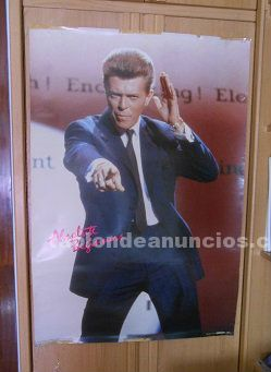 Posters david bowie gigantes a�os 80