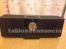 Altavoces logitech para mp3 / mp4 / ipod / iphone4