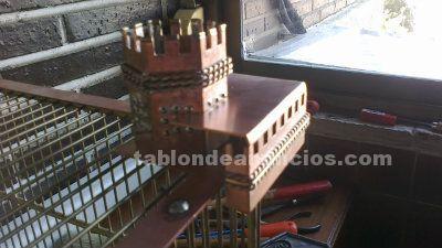 Jaula artesanal (castillo de manzanares)