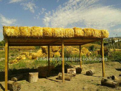 Alpacas de paja de 50 x 40 x 100 cm ideales para camas de animales