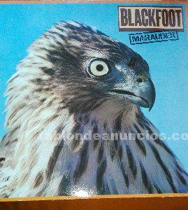 Lp vinilo blackfoot marauder