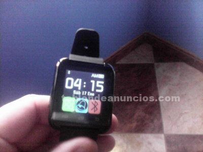 Reloj inteligente táctil compatible con android e ios bluetooth 4