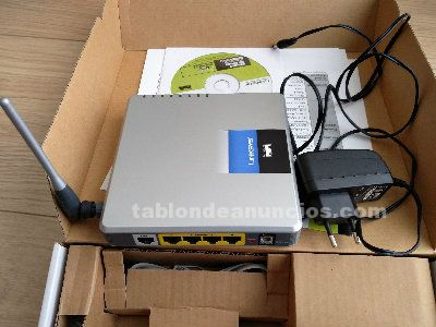 Router linksys wag54gs