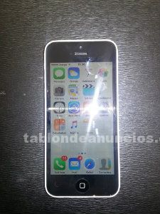 Vendo iphone 5c blanco