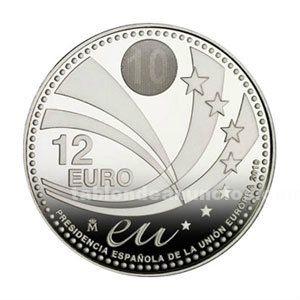 Ocasion moneda de 12 euros año 2010
