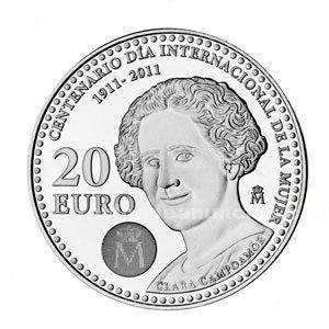 Moneda 20 € a�o 2. 011