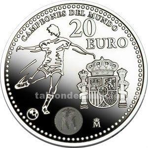 Moneda 20 € año 2. 010