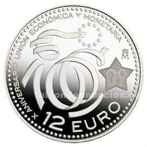 Moneda de 12 € año 2. 009
