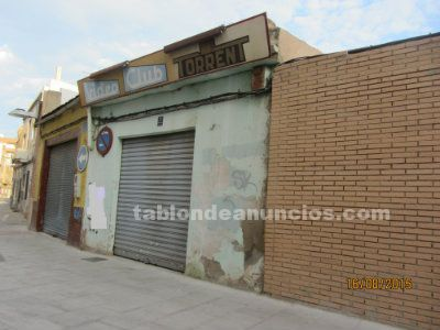 Venta local  independiente c/ san cayetano (torrente)