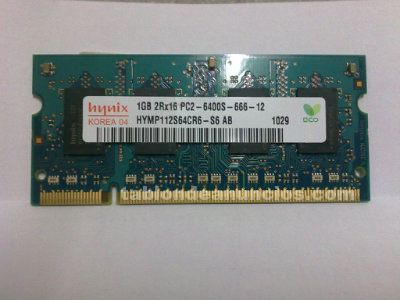 1GB DDR2 SODIMM 200 pin 800Mhz PC2-6400