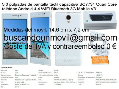 Movil libre de fabrica - doble sim- doble camara