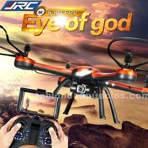 Jjrc h11d 5,8 g fpv 2.0mp hd 2.4g 4ch 6axis rc quadcopter.dron con camara.(nuev