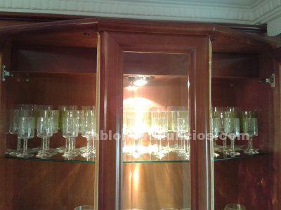 Cristaleria copas talladas