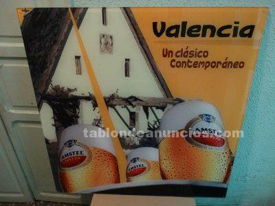 Gran cartel de cerveza AMSTEL Valencia